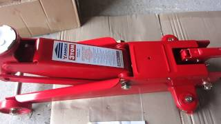 sealey trolley jack 3 ton 1153cx brand new not working