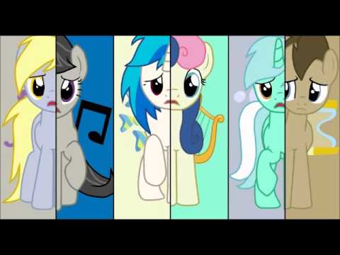 What My Cutie Mark Is Telling Me Background Ponies Cover  YouTube