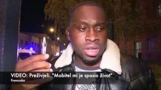 Svjedok pariškog pokolja: Moj mobitel spasio mi je život...