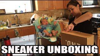 New Sneaker Smell! Sneaker Unboxing w/ Wife & Fam!