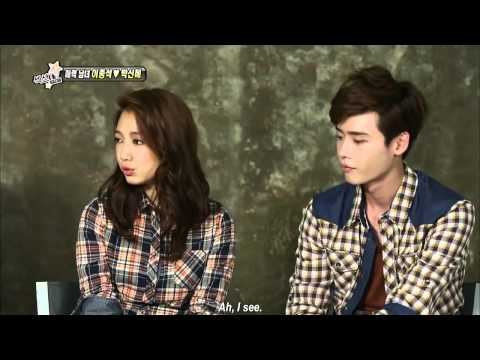 [ENGSUB] 20130804 Lee Jong Suk & Park Shin Hye Interview (2/2)
