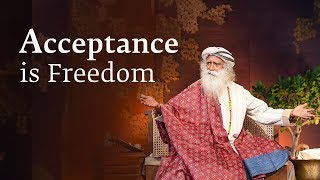 Why Acceptance Is Freedom - Sadhguru Spot (2nd Aug, 2018)