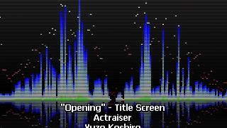 Opening - Title Screen - Actraiser