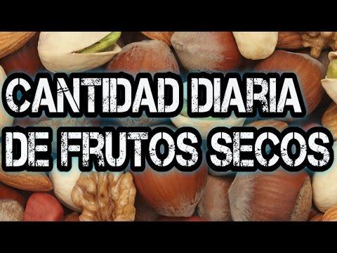 Frutos Secos ¿Cuántos comer al día?