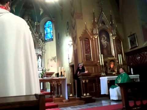 Przekazanie Relikwii św Faustyny w Łagiewnikach cz 1
