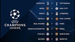 Pronóstico: Octavos de final de la Champions League 2017-2018.