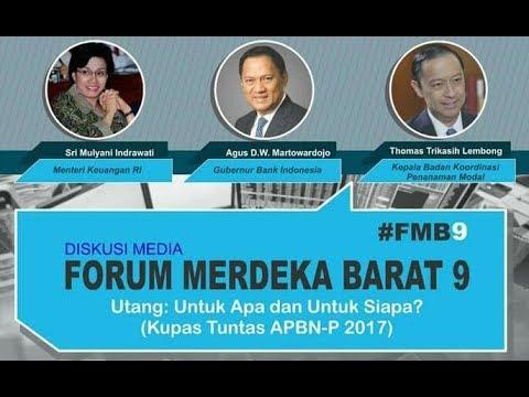 Diskusi Media Forum Merdeka Barat 9 : Utang Untuk Apa dan Untuk Siapa?