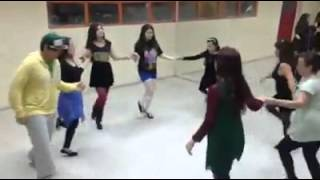 Taller de Danza Irlandesa Liceo Guillermo Gronemeyer 8 hand jig