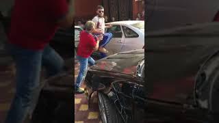 """Жесть! Драка на чеченской свадьбе за """"почётное"""" место за машиной невесты. Кунг-Фу отдыхает! ))"""
