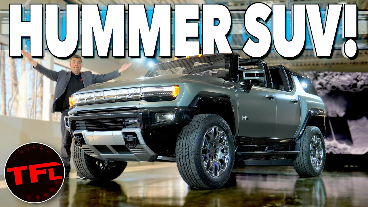 I Get HANDS-ON With The Brand New GMC Hummer EV SUV — Here's Everything You Need To Know!