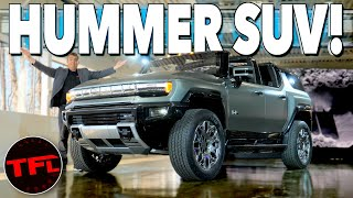 I Get HANDS-ON With The Brand New GMC Hummer EV SUV - Here's Everything You Need To Know!