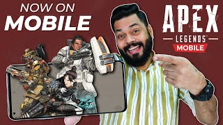 Apex Legends Mobile Hands On And Full Gameplay ⚡ Will It Beat PUBG And Call Of Duty??