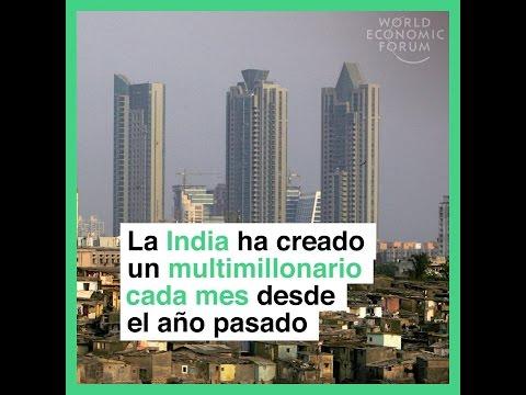 La India ha creado un multimillonario cada mes desde el año pasado