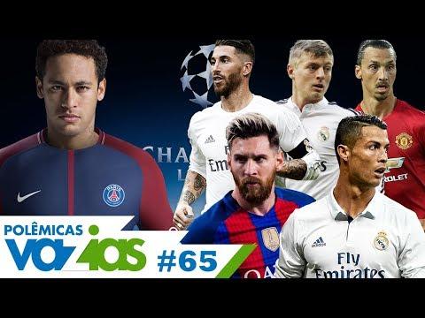 NEYMAR FORA DO TOP 10 DA UEFA É JUSTO? - POLÊMICAS VAZIAS #65
