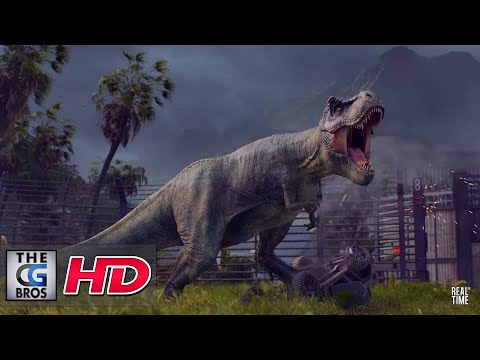 "CGI 3D Animated Trailers: ""Jurassic World Evolution"" - by RealtimeUK"