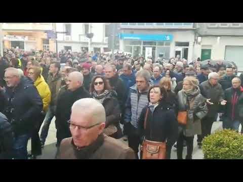 Manifestación en As Pontes por el futuro de la central