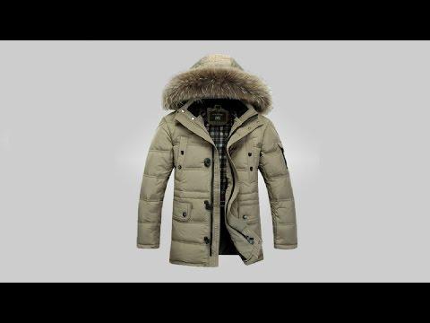 видео: Обзор отличного мужского пуховика | men's down jacket aliexpress