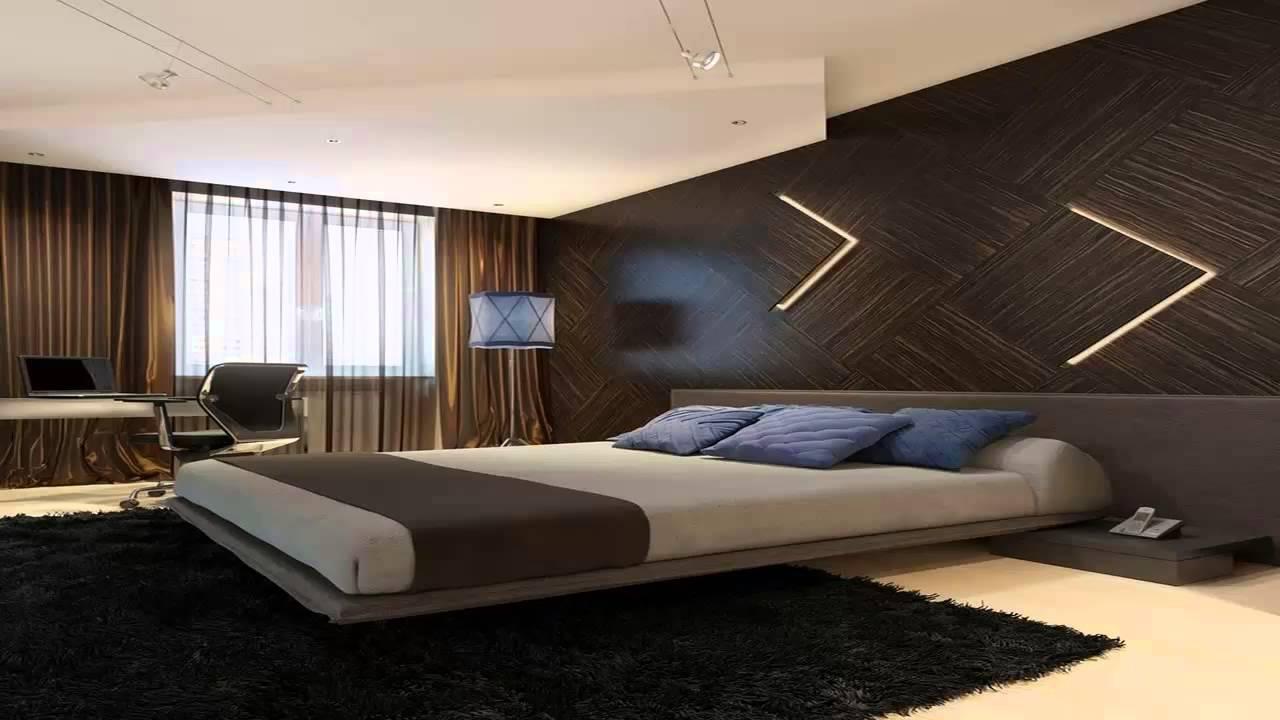 افكار جديدة لديكورات حوائط غرف النوم 2014       YouTube