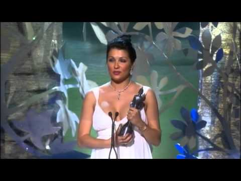 Anna Netrebko at the Classical Brit Awards 2008