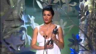 Anna Netrebko at the Classical Brit Awards 2008