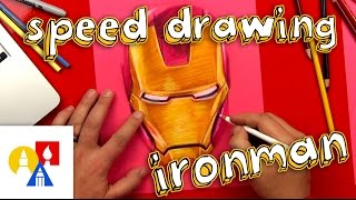 Ironman Speed Drawing