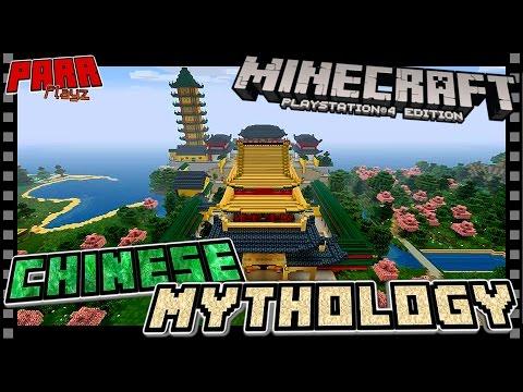 Minecraft Chinese Mythology | Temple Tower [07]