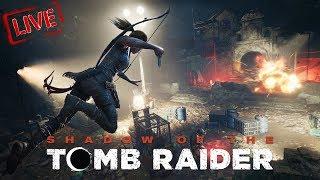 🔴LIVE STREAM - Shadow Of The Tomb Raider #NavratRi SpeciaL xD