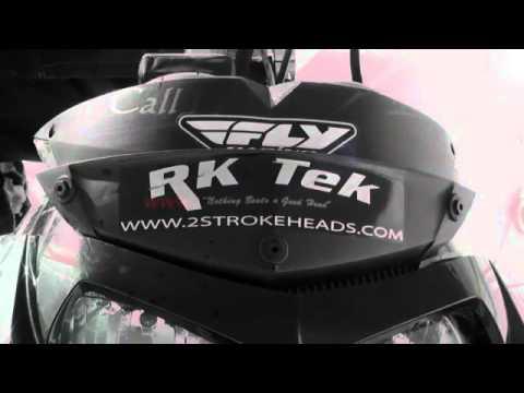 RK Tek Ski doo 860 comparison.flv