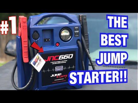 JUMP-N-CARRY JNC660 12 VOLT JUMP STARTER REVIEW VIDEO HOW TO JUMP A CAR TUTORIAL