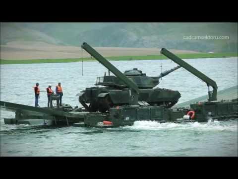 Rus ordusu mobil köprüsü ve Türk...