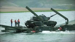 Rus ordusu mobil köprüsü ve Türk Ordusu Mobil Köprüsü Kıyaslaması