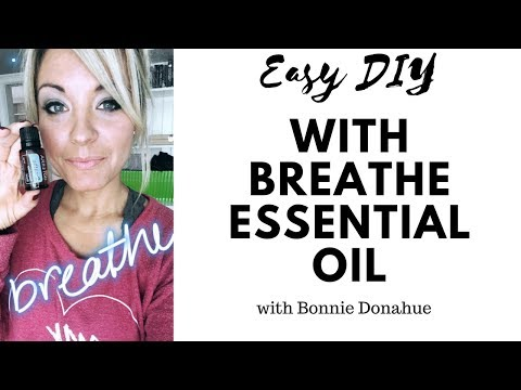 Easy DIY Using Breathe Oil (Respiratory Blend)