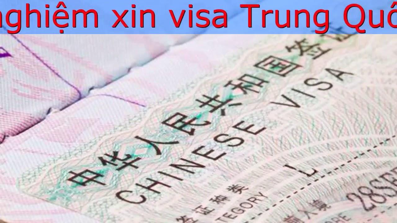 Những chia sẻ kinh nghiệm xin visa Trung Quốc hữu ích