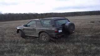 Opel Frontera Mud Trailer