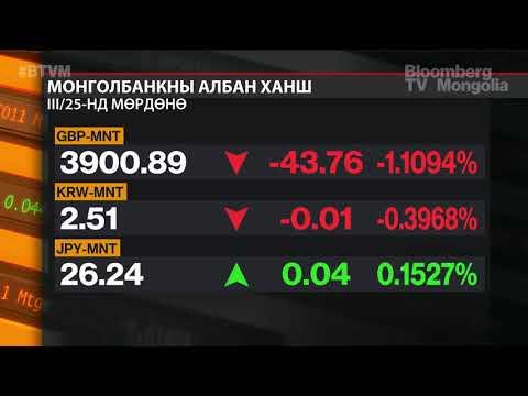 Гадаад валютын ээлжит дуудлага худалдаагаар 9.4 сая ам.доллар зах зээлд нийлүүлэв