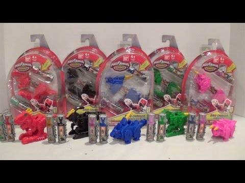 Dino Charger Power Packs Series 1 Wave 1 Review PART TWO [Power Rangers Dino Charge]