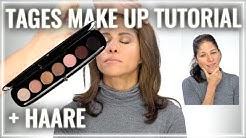 Reife Haut schminken Tutorial Anti Aging Tages Make Up ab 40 50 60  Umstyling Ältere Haar Tutorial