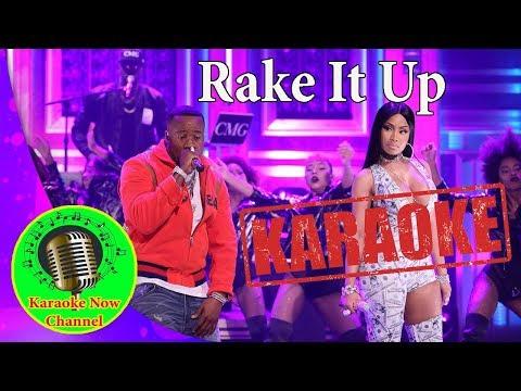 [Karaoke] Rake it up- Yo Gotti & Nicki Minaj- Karaoke Now