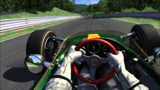 Assetto Corsa - Oculus Rift! Lotus 49 @ Nurburgring