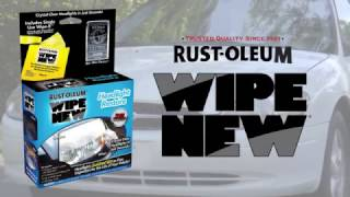 Restore Foggy Headlights with Wipe New Headlight Restore Today!