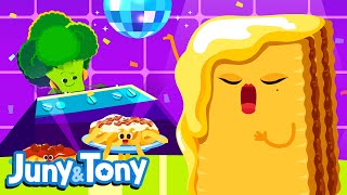 Pasta Party | Food Song for Kids | Funny Song Sing Together | Juny&Tony by KizCastle