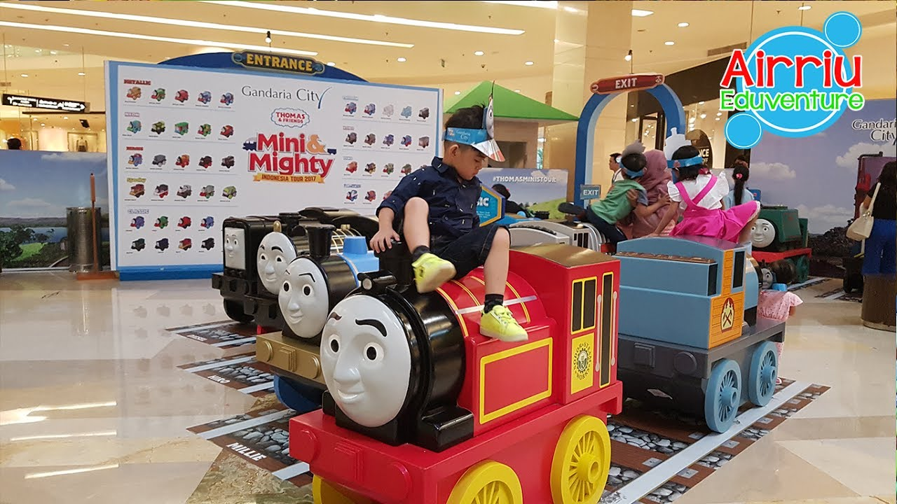 Thomas & Friends Heroes - Mini & Mighty Indonesia Tour 2017 Part.2