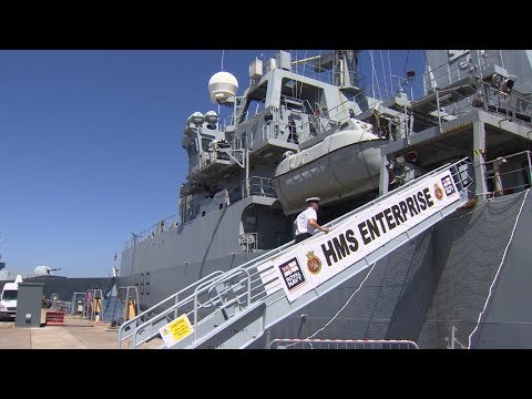 HMS Enterprise Takes Command Of Key NATO Maritime Force | Forces TV