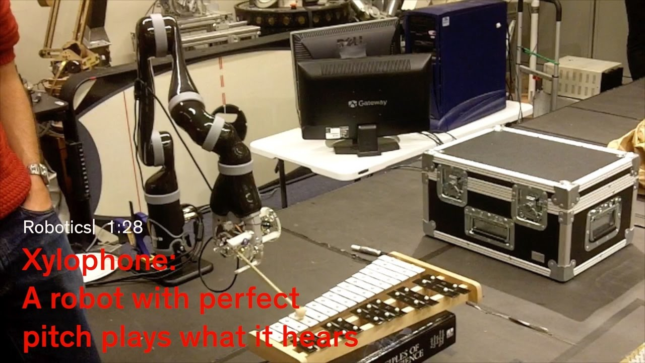 Xylophone: a Musical Robot from Stanford's Experimental Robotics Class