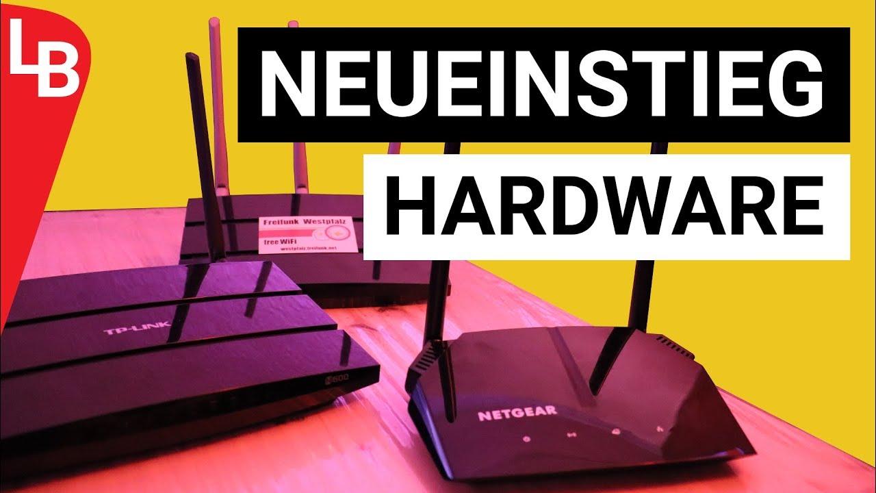 Freifunk-Hardware 2019 für Neueinsteiger