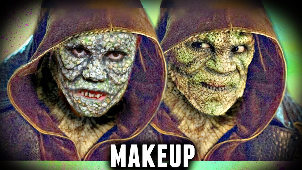 killer croc epic makeup tutorial (suicide squad halloween costume