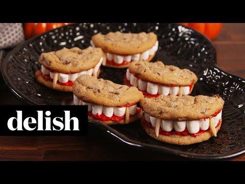 Nina Jackson - Halloween Recipe: Dracula Dentures | video