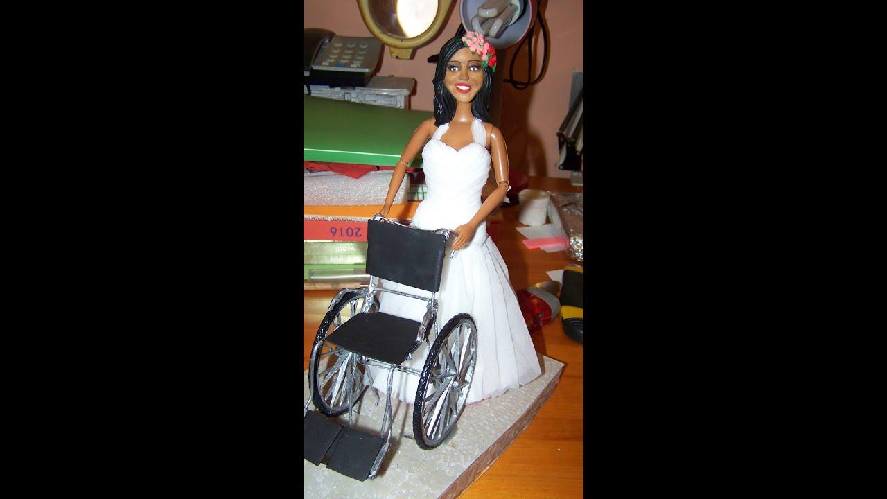 Como hacer una silla de rueda para nuestra mueca barbie y