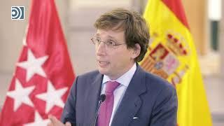 Almeida reprocha a Sánchez negociar con ERC