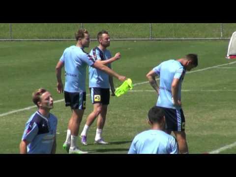 Shane Smeltz Pre Phoenix | Player Interviews | Sydney FC